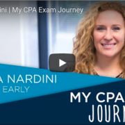 "Assurance Senior Melissa Nardini: ""My CPA Exam Journey"" with the NJCPA"