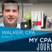 "Assurance Senior Steve Walker: ""My CPA Exam Journey"" with the NJCPA"