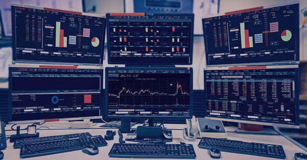 Computers showing Investor Funds or Trader Funds