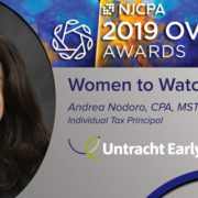 Andrea Nodoro named NJCPA 2019 Ovation Award Women to Watch