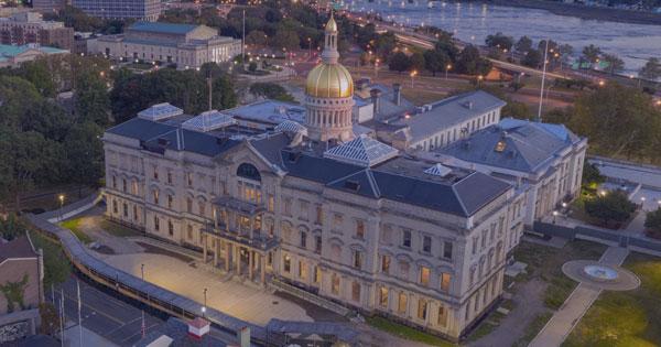 NJ State House Where the SALT Cap Workaround Bill was Passed