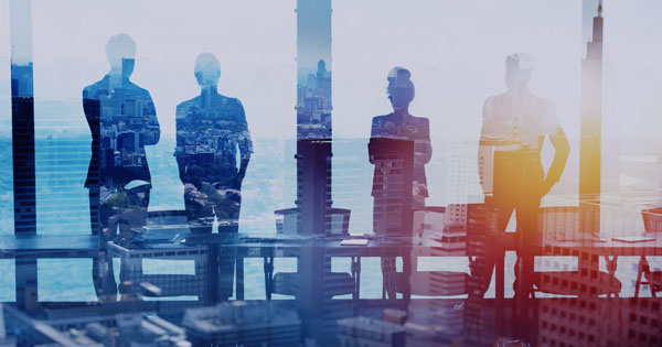 Business leaders claim the employee retention credit in a meeting at their office
