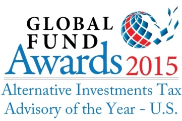 Global Fund Awards 2015 Alternative Investments Tax Advisory of the Year - U.S.