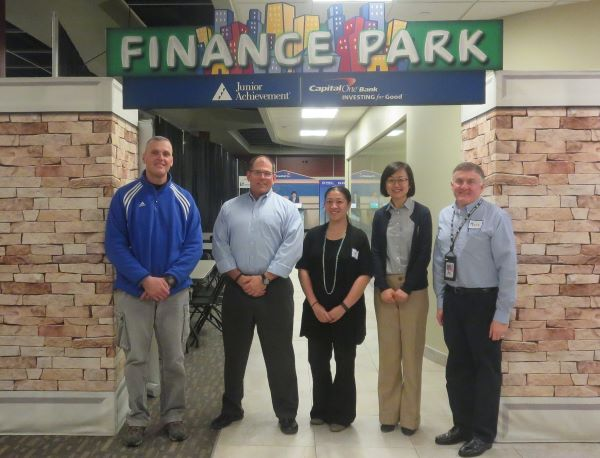 Untracht Early Volunteering with Junior Achievement's Finance Park | Untracht Early Blog