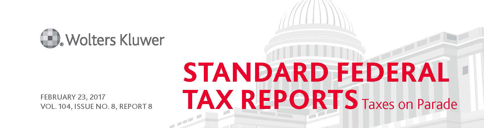 PATH Act Wolter Kluwer Standard Federal Tax Reports